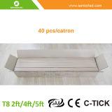 T8 4FT a conduit les tubes fluorescents de lumière avec prix d'usine