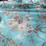 Bedsheet impresso barato da tampa do Quilt da caixa do descanso do fundamento do algodão