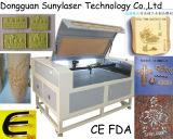 CE y FDA Pasadas madera grabador del laser 1000 * 600mm