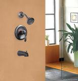 Le robinet sanitaire de bassin d'articles d'accessoires en laiton de salle de bains a délivré un certificat