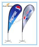 bandierina del Teardrop di 2.8m/bandiera portatili di alluminio di pubblicità di volo