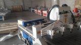 Ranurador de madera del CNC de 6 de los ejes de rotación 3D pistas multi de la relevación