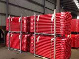 赤い粉の中国の工場からの上塗を施してあるリングロックの足場