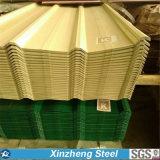 Strato ondulato del tetto dello strato d'acciaio rivestito del tetto dello zinco Dx51
