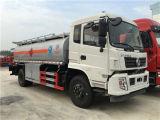 DFAC 7-9m3 이동할 수 있는 연료 트럭 120HP 4X2 석유 탱크 트럭