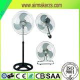 18 Standplatz-Ventilator der Zoll-Industrie-3in1 mit Cer, ETL, RoHS