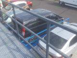 油圧駐車装置は車の上昇を切る