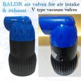 A válvula de vácuo do tipo V /Válvula de Liberação de Ar de plástico para a poupança de água do sistema de irrigação gota a agricultura