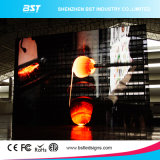 최대 Cheap P10mm SMD3528 Indoor Full Color Transparent Curtain 또는 Mesh LED Display Screen