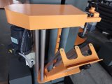 최고 플래튼 깔판을%s 가진 포장지 감싸는 기계가 자동 장전식 턴테이블에 의하여 전 기지개한다