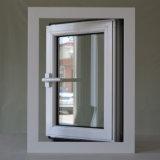 Finestra di alluminio della stoffa per tendine di profilo della rottura termica bianca di colore di alta qualità con la multi serratura K03022
