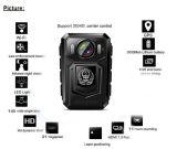 Portátil à prova de câmara de polícia junto ao corpo de Full HD1080p Câmara de vídeo sem fios WiFi com suporte do Gravador de polícia /GPS/3G/4G