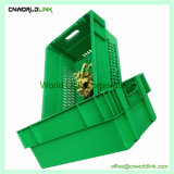 600x400x230mm pão de frutas e vegetais em plástico PE crate