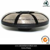 4 абразивный диск бетона диаманта этапа дюйма 15mm