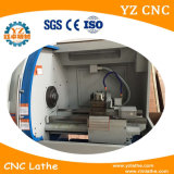 고속 수평한 CNC 절단 금속 선반 기계