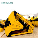 Gru a benna elettroidraulica ampiamente usata della copertura superiore dei quattro cavi da 11 tonnellata