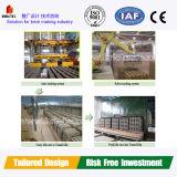 Système de tir au charbon du charbon à gaz naturel pour l'usine de fabrication de briques