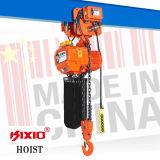 Type adapté électrique de moteur de 5 tonnes élévateur à chaînes avec le crochet