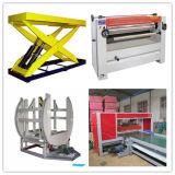 De volledig Duurzaam Lopende band van het Triplex/Machine/Triplex/Triplex die maken drukken