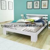 مريحة سرير إطار غرفة نوم حديثة أثاث لازم من صنوبر أبيض خشبيّة حقيرة
