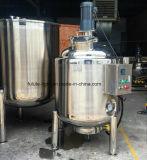 Mezclador industrial del acero inoxidable con el calentador