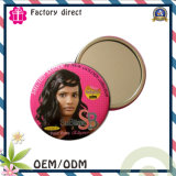 Factory Direct Cheap Customized Round Metal Cosmetic Pocket Makeup Mirror