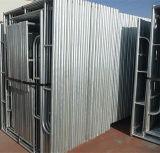 Échafaudage de portique de 1219*1700 Q235 pour la construction