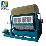 Nueva máquina de hacer Papel bandeja de huevos huevo, la producción de máquinas de moldeo El secado al horno de camisa