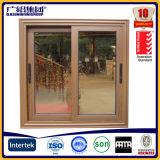 Puerta corredera de cristal de aluminio Puertas de entrada de panel plano correderas