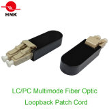 LC PC / APC Fibre Optique Loopback Patch Cord