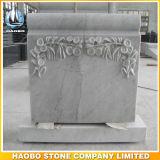 Headstone конструкции падения разрыва с флористический высекать