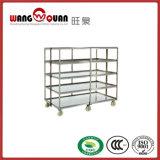 ステンレス鋼の商業トロリー棚