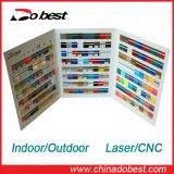 ABS CNCの彫版のための二重カラーボード