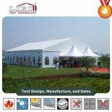Белый шатер свадебного банкета PVC огромный для 2000 согласий людей