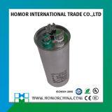 Tipo oval capacitor 250VAC 20UF do caso de alumínio de Cbb65
