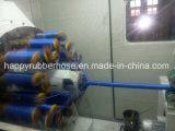 Blaues SAE100 R5 eins Draht-Flechten-Gewebe deckte hydraulischen Schlauch ab
