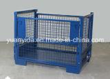 Poudre de récipients d'entreposage du Japon enduisant les cages lourdes de palette de cage