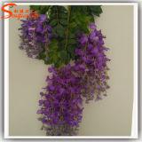 Fiore artificiale di glicine del mestiere della decorazione di festa