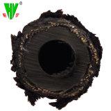 Isolamento di gomma SAE100 R5 del tubo del coperchio della tessile del tubo flessibile del liquido idraulico
