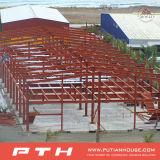 Almacén de la estructura de acero del revestimiento de la pared del panel de emparedado