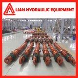 Cilindro hidráulico personalizado da pressão média para a indústria metalúrgica