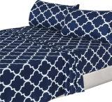 1500年のホテルの品質のMicrofiberのホーム寝具の敷布セット