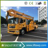 20m 200kg barato camião de plataforma de elevação