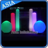 Decorazione gonfiabile commerciale del cono di illuminazione del LED