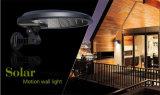 100% Solar-im Freien Fühler-Lithium-Batterie-Solarlicht der Bewegungs-IP65 für Rasen-Wand-Garten
