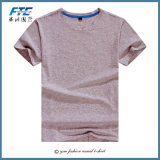 Plain 100% Coton T-shirt avec logo personnalisé imprimé