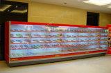 Refrigerador Refrigerated dos refrigeradores do Showcase de Multideck da leiteria