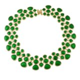 Halsbanden van de Nauwsluitende halsketting van de Kraag van het email de Maxi voor Vrouwen