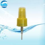 Pulverizador plástico amarelo da névoa para o uso cosmético de Fixature