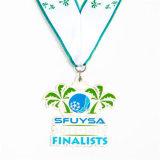 De Alta Calidad personalizada de la medalla de la decoración de forma de coco